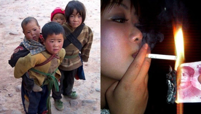 Chinese poverty and inequality - the 100 yuan cigarette lighter